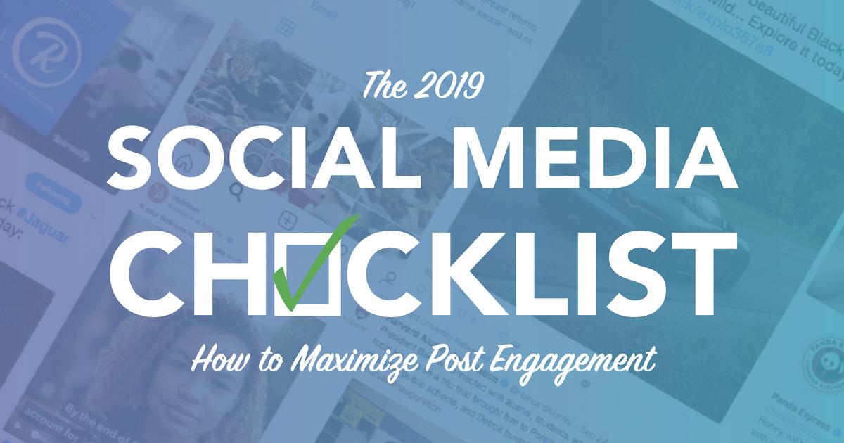 2019 Social Media Guide
